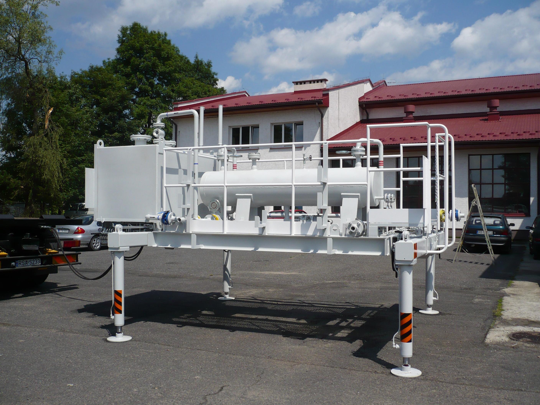 NGS stanowisko do badania złoża gazu 2